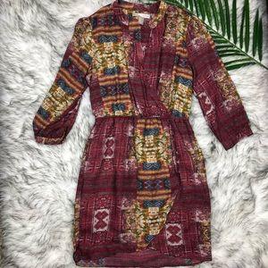 Forever 21 Womens Tribal print Dress Medium